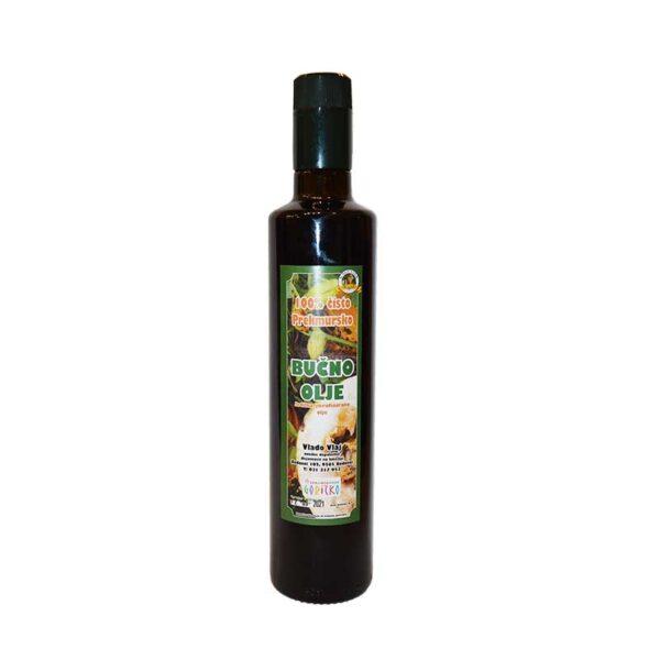 Kmetija Vlaj domače bučno olje 0,5 l steklenica