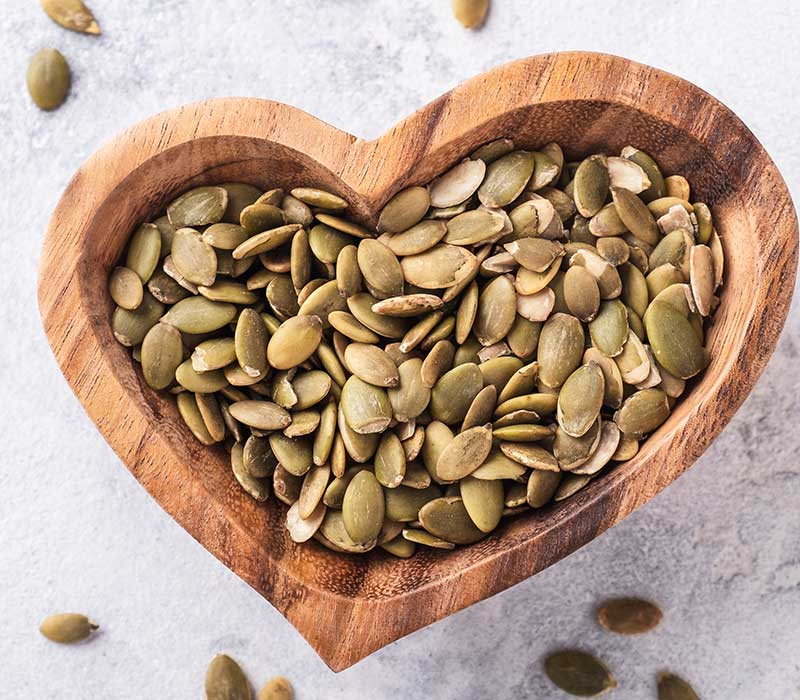Bučno olje pri obolenjih srca, ožilja in proti raku