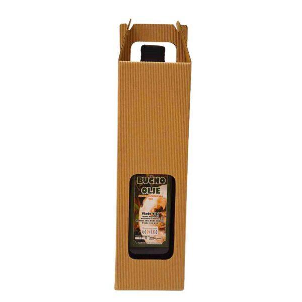 Kmetija Vlaj domače bučno olje 1 L v darilni škatli